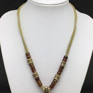 Premier Designs Jewelry - Premier Designs Gold Tone Pendant Necklace